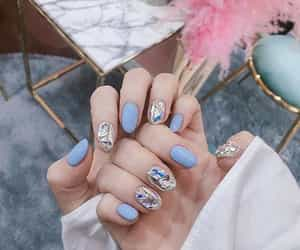 manicure, nail, and nail art image