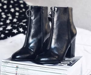 ankleboots, black, and inspo image