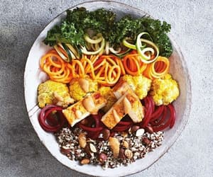 cauliflower, vegan, and food image