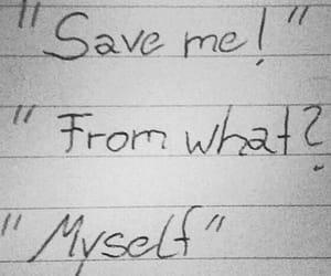 depression, sad, and Save Me image
