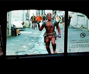 deadpool, gif, and Marvel image