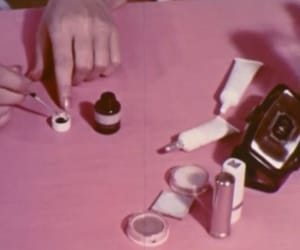 pink, grunge, and vintage image