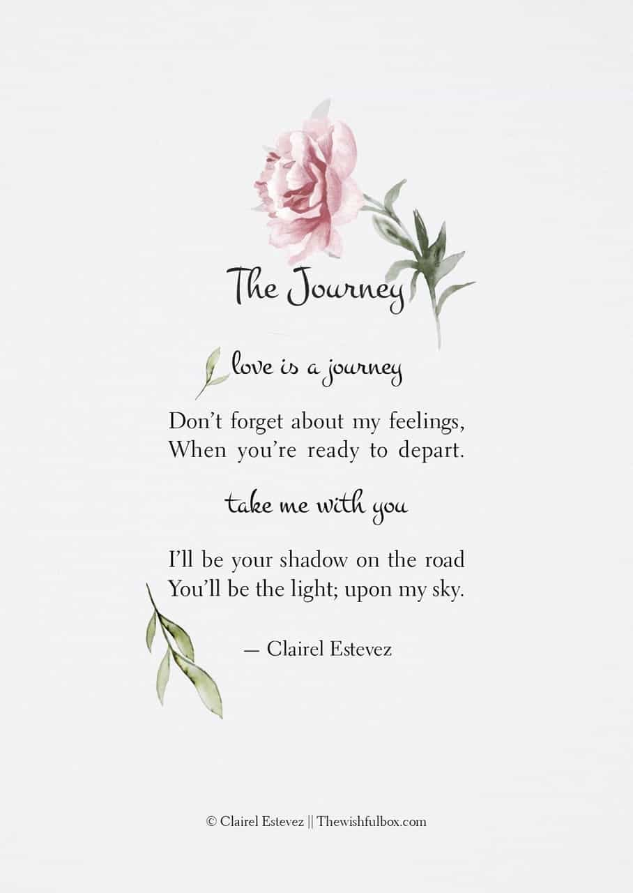 The Journey Poetry Poem Storyteller Poet Quotes