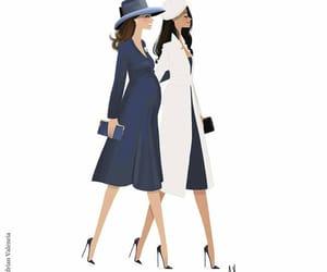 fashion, kate middleton, and meghan markle image