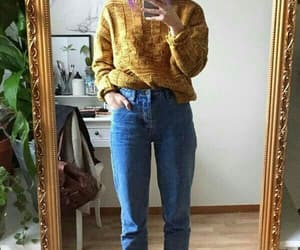 yellow, clothes, and fashion image