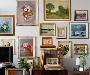 art, painting, and vintage image