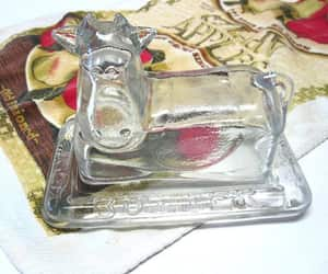 cow, etsy, and clear glass image