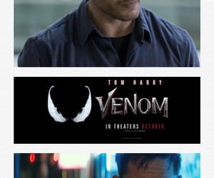 actor, tom hardy, and venom image