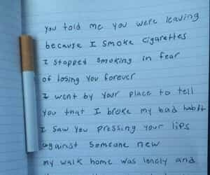 cigarettes, teen, and text image