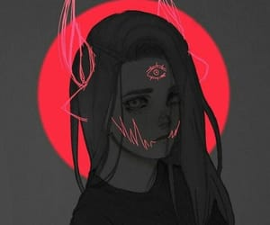 girl and art image