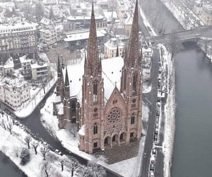 architecture and winter image