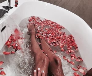 bath, cozy, and relax image