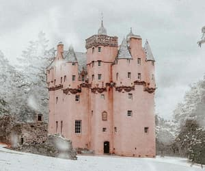castle and pink image