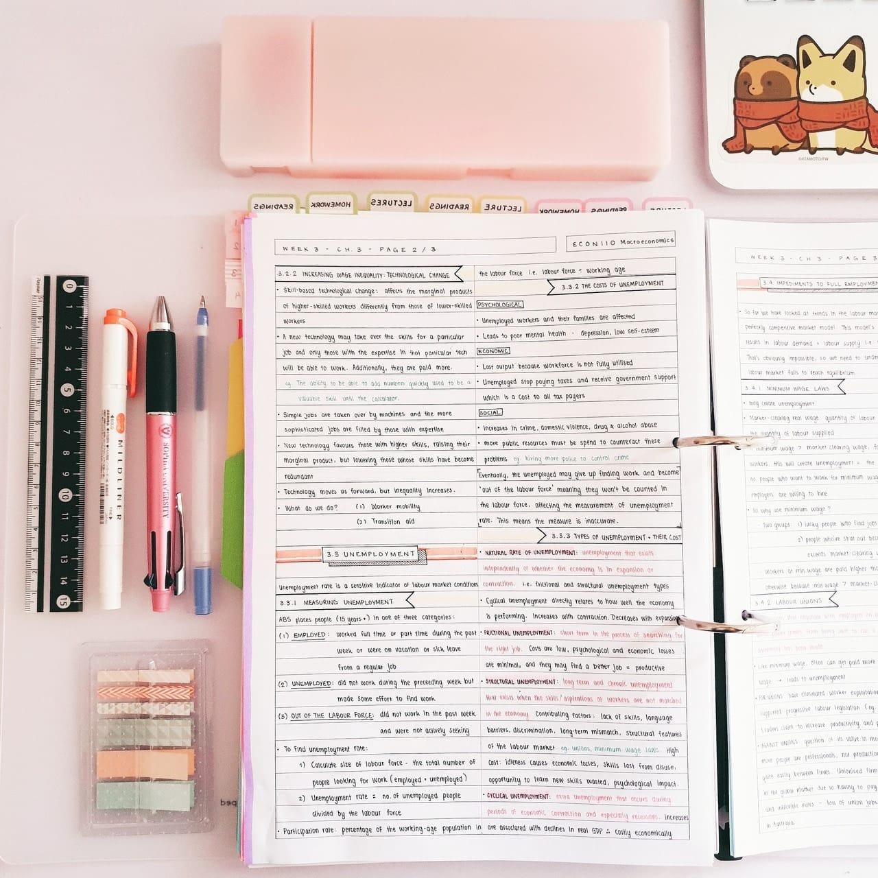 studyblr | Tumblr shared by Ignacia on We Heart It