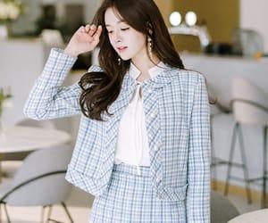 asian fashion, korean fashion, and outer image