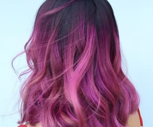aesthetic, colors, and hair image