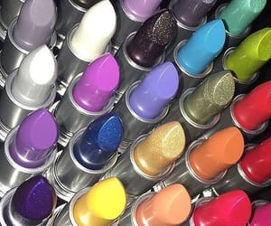 colorful, colors, and lipstick image