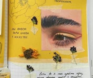yellow, art, and aesthetic image