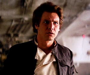 gif, han solo, and harrison ford image