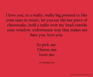 Love, Quote, And Greyu0027s Anatomy Image