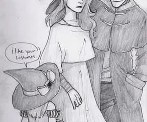 harry potter, ginny weasley, and Halloween image