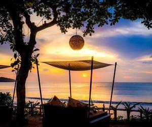 bali, beach, and holidays image