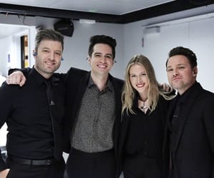brendon urie, panic!at the disco, and nicole row image