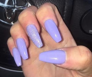 claws, glitter, and lavender image