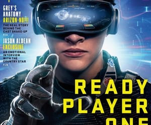 actor, tye sheridan, and ready player one image