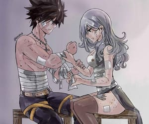 fairy tail, anime, and gruvia image