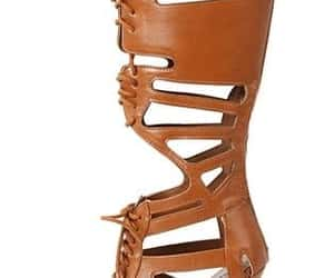 knee high gladiator heels image