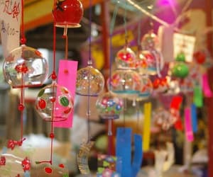 japan, wind bell, and furin image