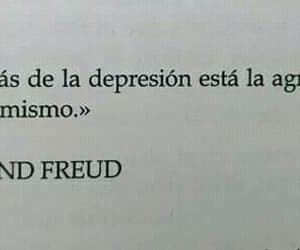 frases, sigmund freud, and depresion image