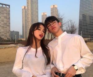 asian boy, south korea, and asian girl image