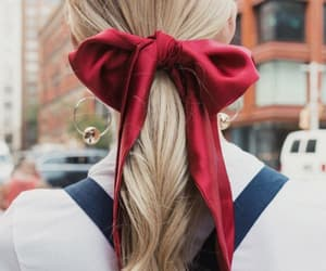 girl, hairstyle, and haïr image