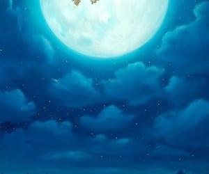 moon, wallpaper, and night image