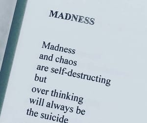chaos, madness, and quotes image