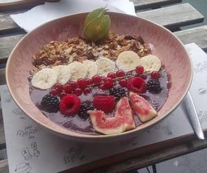 acai, raspberries, and banana image