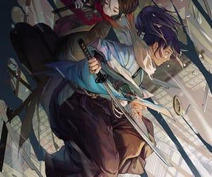 anime, art, and yamatonokami yasusada image