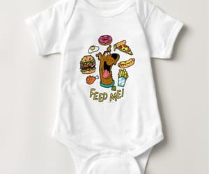 baby, cartoons, and dogs image