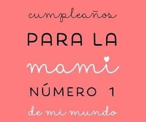 happy birthday, mama, and celebracion image
