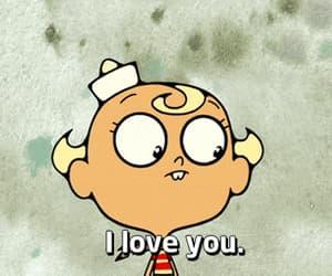 I Love You, flapjack, and cartoon image
