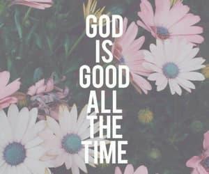 god, christian, and good image