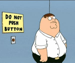 button, family guy, and funny image