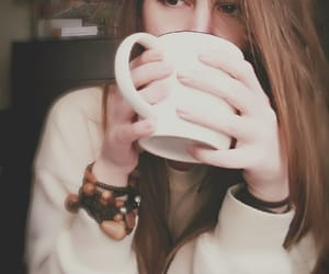 coffee, cup, and hands image