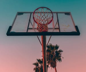 ball, basket, and Basketball image