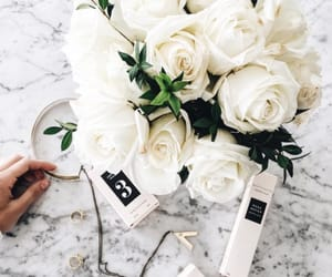 aesthetic, marble, and we heart it image