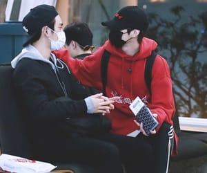 jinyoung, got7, and markjin image