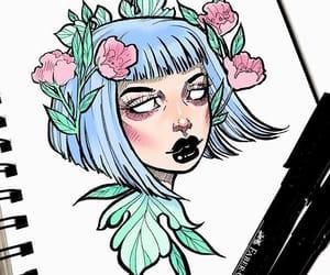 art, drawing, and creative image