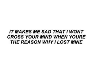 quotes, sad, and lost image